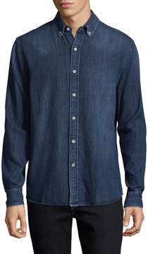 Joe's Jeans Men's Jimmy Denim Cotton Sportshirt