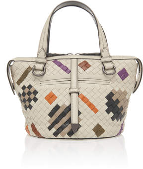 Bottega Veneta Small Tambura Top Handle Bag