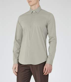 Reiss Mauro Concealed Placket Shirt