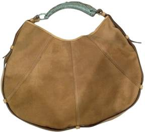 Saint Laurent Mombasa cloth handbag - BROWN - STYLE