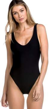 Becca Shimmer Reversible One Piece Swimsuit