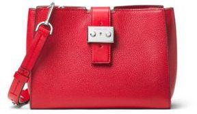MICHAEL MICHAEL KORS Bond Medium Convertible Leather Satchel
