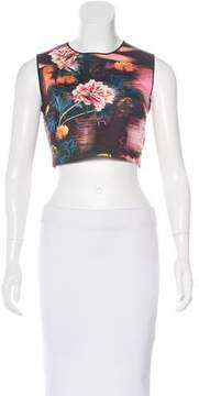 Clover Canyon Cropped Floral Print Top w/ Tags
