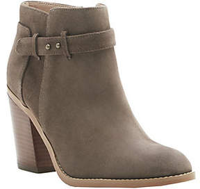 Sole Society Leather Ankle Boots - Lyriq