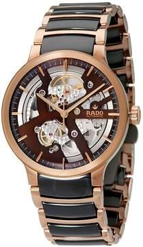 Rado Centrix Brown Skeleton Dial Automatic Men's Watch