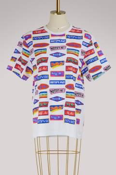 Atelier Notify Cotton logo T-shirt