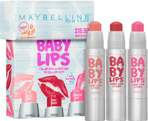 Maybelline Baby Lips Color Balm Crayon Trio Kit - Only at ULTA