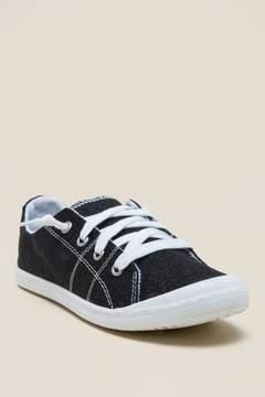 Not Rated Neema Glitter Flex Sneaker - Black