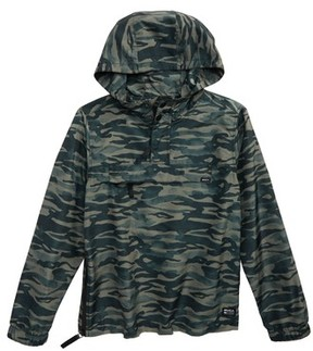 RVCA Boy's Packaway Hooded Anorak