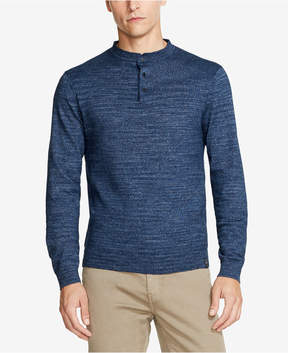 DKNY Men's Marled Henley Sweater, Created for Macy's