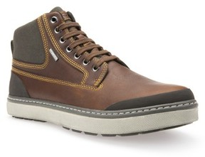Geox Men's Mattias Amphibiox Waterproof Leather Sneaker