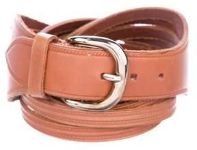 Valentino Laser Cut Waist Belt