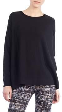 Akris Punto Twilight Print Wool Pullover