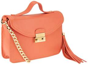 Isaac Mizrahi Live! Bridgehampton Leather Mini Shoulder Bag