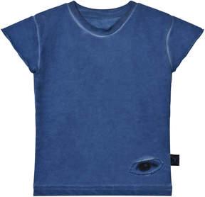 Nununu Dirty Blue Sleeveless Sweatshirt