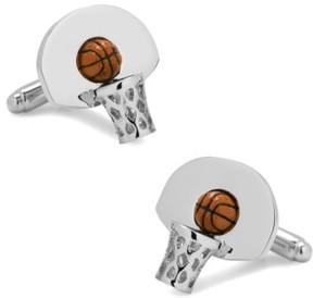 Cufflinks Inc. Men's Cufflinks, Inc. Basketball Hoop Cuff Links