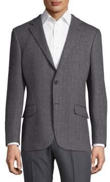 Hickey Freeman Herringbone Sportcoat