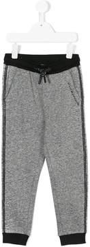 Karl Lagerfeld branded drawstring track pants
