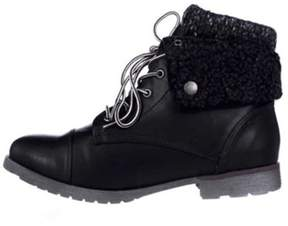 Rock & Candy Womens Spraypaint-h Closed Toe Ankle Fashion Boots.