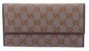 Gucci GG Continental Wallet - GREY - STYLE