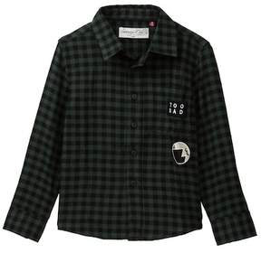 Sovereign Code Bowmore Plaid Flannel Shirt (Toddler & Little Boys)