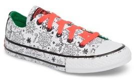 Converse Girl's Chuck Taylor All Star Christmas Coloring Book Ox Sneaker