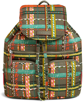 Vera Bradley City Plaid Midtown Cargo Backpack - CITY - STYLE