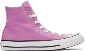 Converse Purple Classic Chuck Taylor All Star OX High-Top Sneakers