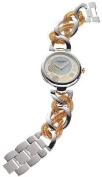 Akribos XXIV Women's Ornate Diamond Watch