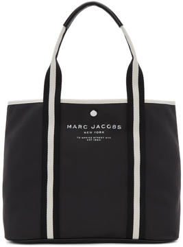 Marc Jacobs Black East-West Tote - BLACK - STYLE