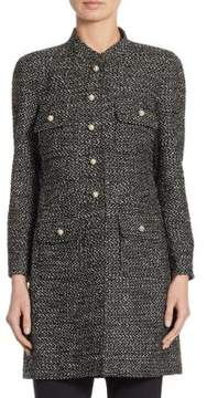 Edward Achour Button-Front Jacket