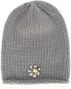 Inverni beanie with jewel embellishment