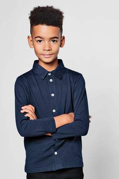 boohoo Boys Long Sleeve Jersey Shirt