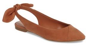 BCBGMAXAZRIA Women's Mara Bow Pointy Toe Flat