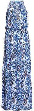 Melissa Odabash Printed Jersey Maxi Dress
