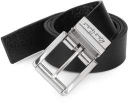 Robert Graham Potter Reversible Leather Belt