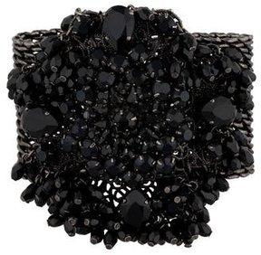 Erickson Beamon Black Crystal Link Bracelet