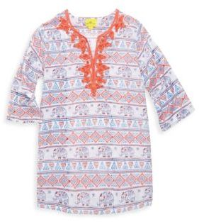 Roberta Roller Rabbit Toddler's, Little Girl's & Girl's Hindigo Meena Kurta Top