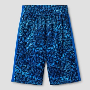 Champion Boys' Printed Lacrosse Shorts Blue Print