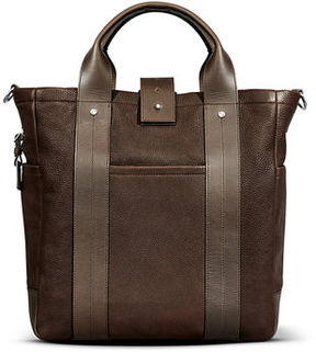 Shinola Men's Leather Commuter Tote Bag