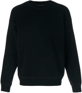 Alexander Wang ribbed knit sweatshirt