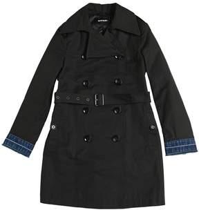 Diesel Cotton Blend Gabardine Trench Coat