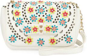 Betsey Johnson Rosie Posie Floral Crossbody Bag, Multi
