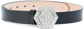 Philipp Plein crystal buckle belt