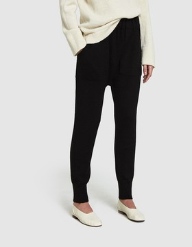 LAUREN MANOOGIAN Arch Pants in Black