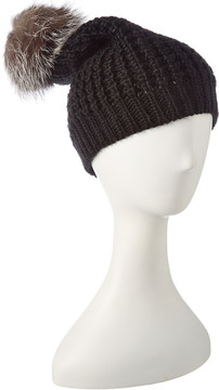 Jocelyn Black Knit Hat