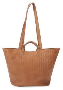 Meli-Melo Rosalia Woven Leather Tote Bag