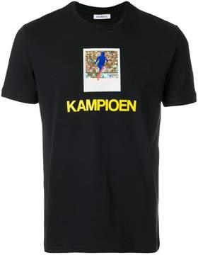 Dirk Bikkembergs Kampioen T-shirt