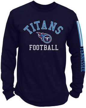 Authentic Nfl Apparel Men's Tennessee Titans Spread Formation Long Sleeve T-Shirt