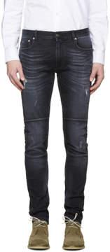 Belstaff Black Distressed Tattenhall Jeans
